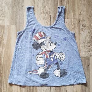 Vintage Disney American Mickey Mouse Tank Top